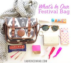 Great purse packing tips with things you don't want to forgot for your weekend at Rendezvous Music Festival in Beaver Creek, CO September 11th and 12th! Get your tickets at www.rendezvousbc.com #RendezvousFest|