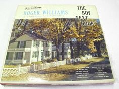 Roger Williams The Boy Next Door Vinyl Record Free Shipping