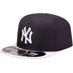 online store d4db6 1e84e Youth New York Yankees New Era Navy White Diamond Era BP 59FIFTY  Performance Home Fitted