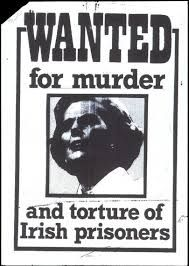 Thatcher Wanted Poster - Thank God that witch is DEAD! Old Irish, Irish Celtic, Northern Ireland Troubles, Irish Independence, Irish Republican Army, Protest Posters, Images Of Ireland, Irish Pride, Names With Meaning
