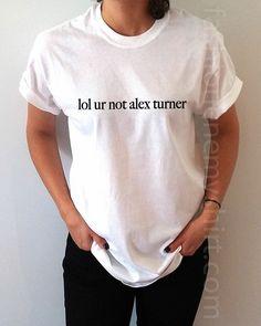 lol ur Not Alex Turner - Unisex T-shirt for Women - shpfy