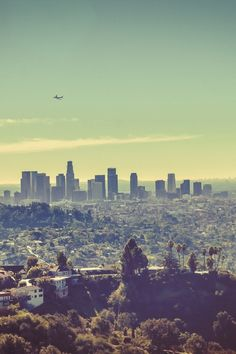 Los Angeles Skyline, California