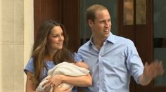 Today Will and Kate gave the world a glimpse of the day old future King. The tiny prince was welcomed by cheering fans outside of St. Marys Hospital in London. The Royal couple looked absolutely stunning in matching blue outfits, no doubt in  honor of their new bundle of joy. Prince William stopped to talk [...]