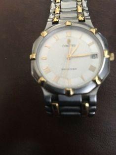 459504d8444 Men s Concord Saratoga 18K Yellow Gold   Stainless Steel Quartz Watch