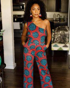 Latest Ankara Dress Styles - Loud In Naija Latest Ankara Dresses, Beautiful Ankara Styles, Trendy Ankara Styles, Ankara Dress Styles, African Wear, African Dress, African Outfits, African Clothes, Ankara Jumpsuit