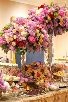 Preston Bailey's Elevated Wedding Reception Centerpieces, Bride Ideas, Preston Bailey, preston bailey centerpieces