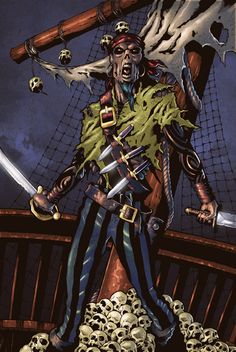Zombie Pirate by Blade1158