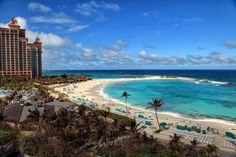 The Cove Atlantis beach - #Paradise Island #Bahamas #travel