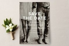 REVEL: Black and White save the Dates