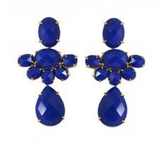 Brinco flower blue    http://matka.com.br/brinco-flower-blue.html