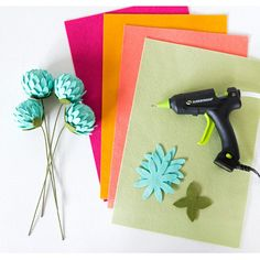 In this Instagram Live video, I discuss my favorite glue gun to use when making felt florals. I also demonstrate how to make a unique felt flower using a foam ball for the inside structure.