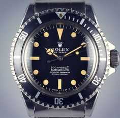 Meters first 5512 just listed on the hqmilton.com #hqmilton #rolex #5512 #submariner