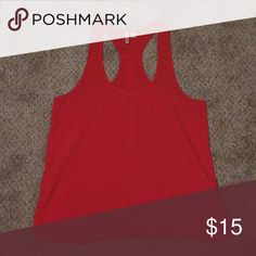 Coral Frenchi Top Coral Frenchi Top, in great condition and super flattering! Frenchi Tops Tank Tops