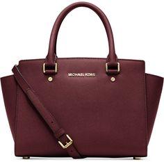 Trending On ShopStyle - MICHAEL Michael Kors Selma Medium Satchel Diese und weitere Taschen auf www.designertaschen-shops.de entdecken