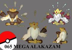 Pokemon Mega Alakazam Fimo
