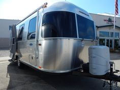 2016 Airstream Sport 22- Exterior view.  Woodland Travel Center - Grand Rapids, Michigan 49525 Airstream Sport, Travel Center, Vintage Airstream, Recreational Vehicles, Woodland, Michigan, Exterior, Sports, Hs Sports