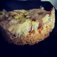 Homemade Ghewar served with Rabadi