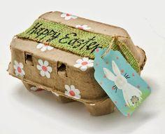 Si, ya sé que las hueveras parece que no sirvan para otra cosa que no sea guardar huevos ¿verdad? Pues no es así, al igual que con casi todo, se pueden reciclar y reinventar.