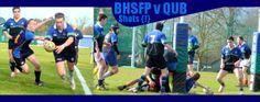 QUB RFC v BHSFP RFC Action SHOTS LIVE!!!!!!!!!!!!!!!! ON WWW.INTOUCHRUGBY.COM