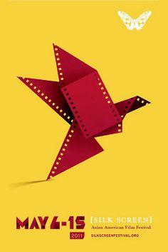 Film Festival Posters: SILK SCREEN: Asian American Film Festival 2011