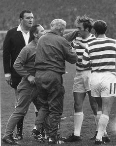 Harry Hood gets treatment 1971 SCF Celtic Fc, Professional Football, Football Soccer, Glasgow, Bobby, Scotland, Emerald, Ford, Europe