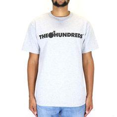 The Hundreds Forever Bar Logo T-Shirt - Athletic Heather