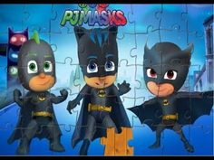 PJ MASKS! Puzzle Games l Jigsaw Puzzle picture 6 Pj Masks Games, Puzzle Games, Minions, Jigsaw Puzzles, Pictures, Fictional Characters, Photos, The Minions, Fantasy Characters