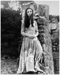 Angelica Huston at age 16 in Ireland, 1968 By Eve Arnold