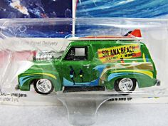 Johnny Lightning 1955 Ford Panel Delivery Surf Rods 1/64 Scale Die Cast Toy Car #JohnnyLightning #Ford