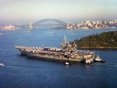 USS Constellation in Sydney