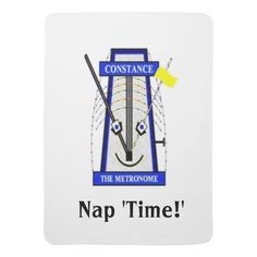Constance the Metronome Nap 'Time' Blanket