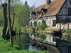 By the water   Lyons-La-Foret   Normandy   france