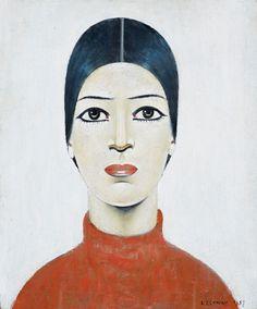 Portrait Of Ann ένας ακόμα πίνακας από τον L S Lowry το 1957. Είναι ένα από τα πιο διάσημα πορτρέτα Lowry και η γνώμη παραμένει διχασμένη ως προς την ταυτότητα του υποκειμένου και τη σημασία της για τον καλλιτέχνη .