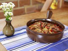 Ratatouille Gratinada! O nome é difícil, mas a receita é bem fácil
