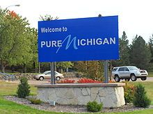 Pure Michigan- one of the very best signs I saw when we moved back from GA!
