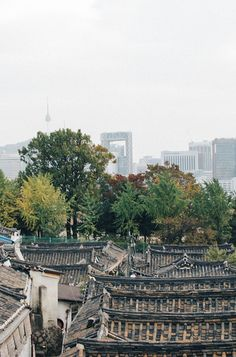 Bukchon Hanok Village in Seoul, Korea