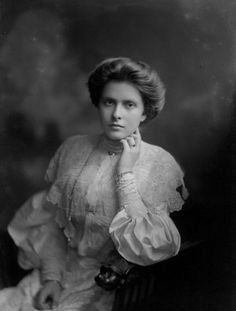 Her Royal Highness Princess Andrew of Greece and Denmark (1885-1969) née Her Serene Highness Princess Alice of Battenberg (Prince Phillip's Mother)