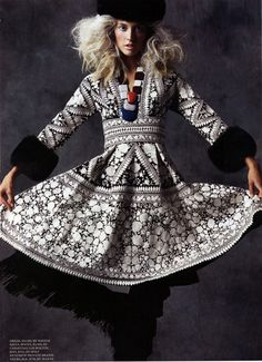 New uni project: looking into Russian fashion, interesting!