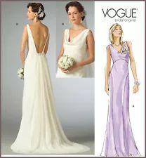 wedding dress patterns | eBay Bodice Wedding Dress, Wedding Dress Patterns, Prom Dresses, Formal Dresses, Wedding Dresses, Bridal Gowns, Sewing Patterns, Vogue, Winter