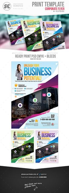 Business Flyer by shamcanggih Flyer templates designed exclusively for corporate, business, agency, promotion or any of use. Fully editable, image/logo can be q