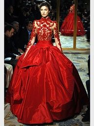 Our design team produces custom wedding dresses & formal ball gowns. See our collection of designer evening wear & mother of the bride too. Style Couture, Couture Fashion, Runway Fashion, Fashion Show, Red Fashion, Marchesa Fashion, Fashion Models, Fashion Women, Style Fashion