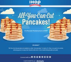 Ihop Giveaway August 4th 2019