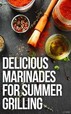 Perfect marinades for your family grill out this summer!