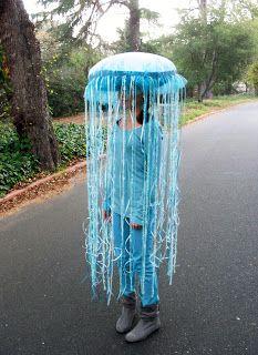 Glowing portuguese woman o war jellyfish costume yellow submarine jellyfish costume solutioingenieria Choice Image