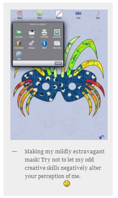 App Review of the Week: Mask Doodle- Pinned by @PediaStaff – Please Visit http://ht.ly/63sNt for all our pediatric therapy pins