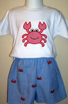 custom boutique childrens clothing birthday applique monogrammed t-shirt skirt pants birthday outfit. $10.00, via Etsy.
