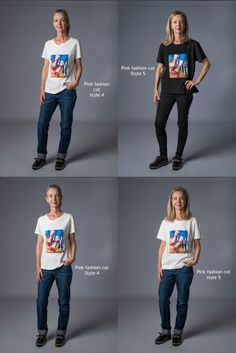 Limited edition hand finished tshirts in two colours and two styles - fabric 95% cotton and 5% spandex