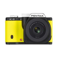 {Pentax K-01} yellow! want.