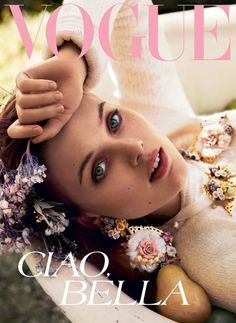 Bella Heathcote photographed by Will Davidson on Vogue Australia September 2012