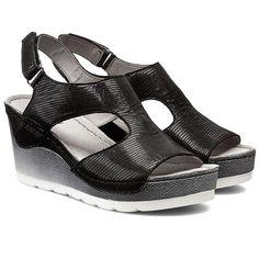 Sandały DOLCE PIETRO - 0888-123-01-1 Czarny Fol